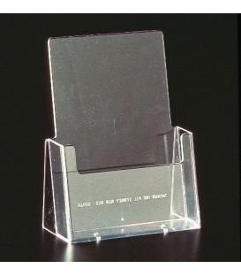 A5 Brochure Holder - Counter Standing Single Pocket