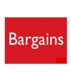 Sale Card: BARGAINS