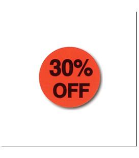 Adhesive Label: 30% OFF
