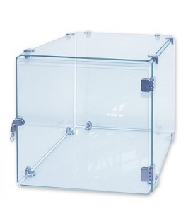 Glass Cube Showcase