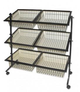 Impulse Basket Stand - 6 Baskets