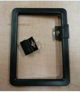 PVC Window Mount Set for Ticket Frames - 4pc