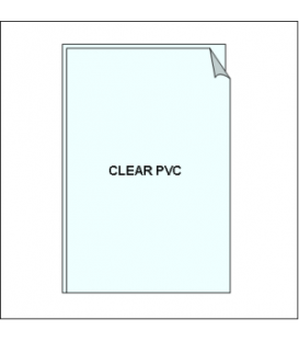 Clear PVC Sleeve - for Ticket Frames