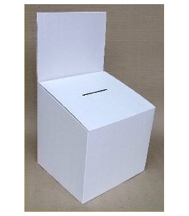 Entry or Suggestion Box - Cardboard: Small