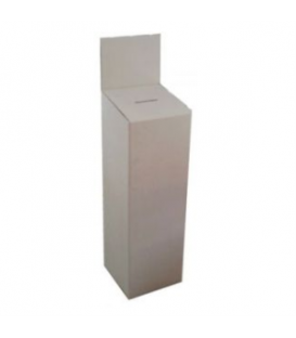 Entry or Suggestion Box - Cardboard: Large