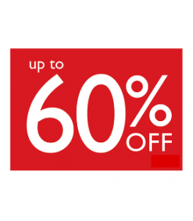 Sale Card: UP TO 60% OFF