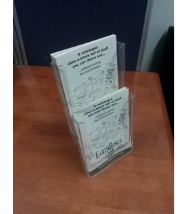 2 x A5 Counter Brochure Holder