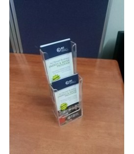 2 x Trifold/DL Counter Brochure Holder