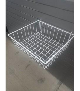 Mesh Basket - W30: White
