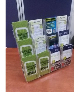 Trifold Counter Display