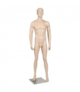 Budget Mannequin - Male 'with Head' - Skintone