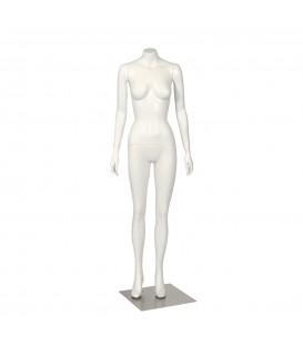 Budget Mannequin - Female 'Headless' - White