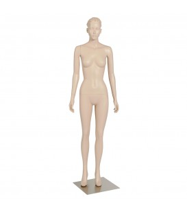 Budget Mannequin - Female 'with Head' - Skintone