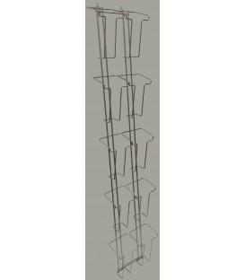 10 Pocket Trifold Extra Capacity Column