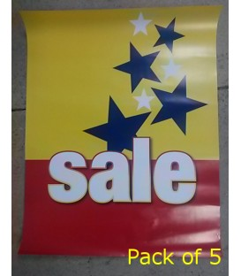 """""""Sale"""" with stars Poster"""
