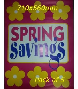 """""""Spring Savings""""  Poster"""