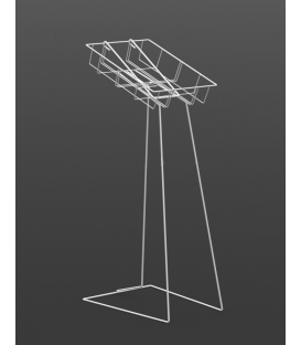 Catalogue Display Stand A4