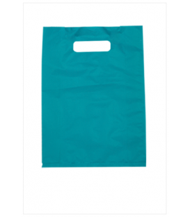 Small Blue Boutique Bags - HDPE