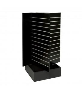 Slatwall Spinner Unit Large Black