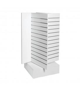 Slatwall Spinner Unit Large White