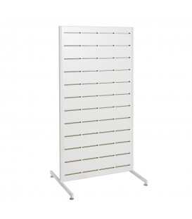 Pop Slot Panel on legs 1264mm High x 630mm Wide White