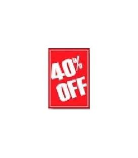 Sale Card: 40% OFF