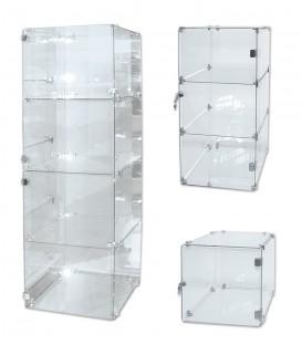 Glass Cube Units