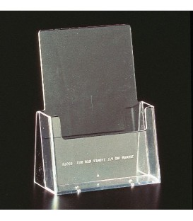 A5 Brochure Holder - Counter Standing Single Pocket