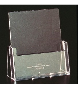 A4 Brochure Holder - Counter Standing Single Pocket