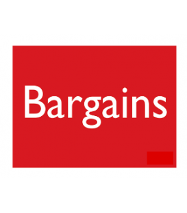 Sale Card: BARGAINS