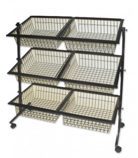 Impulse Basket Stand - 6 Baskets