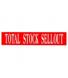Banner: TOTAL STOCK SELLOUT