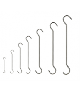 Wire Hooks - Double Ended