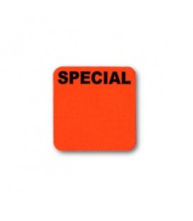 Adhesive Label: SPECIAL