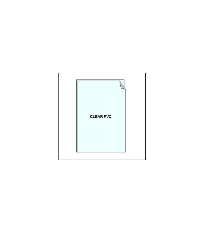 Clear pvc sleeve for ticket frames shop basics - Plaque pvc transparent ...