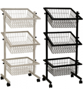 Impulse Basket Stand - 3 Baskets