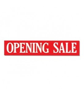 Banner: OPENING SALE