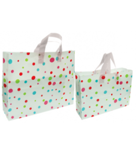 Flexi Loop Bags - Polka Dots