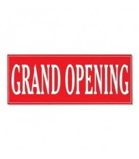 Banner: GRAND OPENING