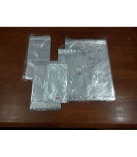 100x150mm + 30mm Lip, Strip Seal Bag