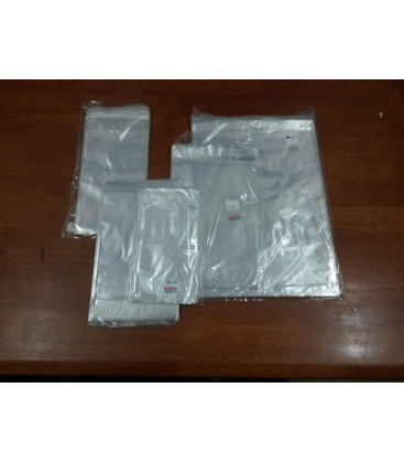 405x355mm + 38mm Lip, Strip Seal Bag