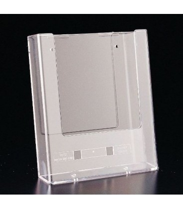 A5 Brochure Holder Wall Mount Single Pocket Shop Basics
