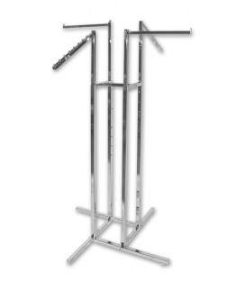 Rack 4 Way with 2 Straight & 2 Waterfall Arms