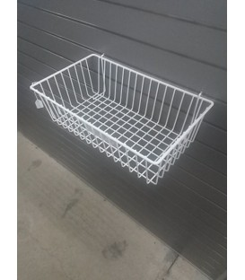 Mesh Basket - W28: White