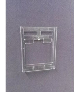 A4 Brochure Holder for Wall Bar