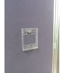 A5 Brochure Holder for Wall Bar