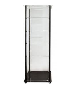 Tower Showcase, Black Aluminium