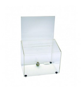 Entry or Suggestion Box - Acrylic- Clear