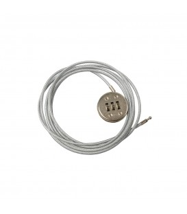Security Cable with Lock - 1800mmL