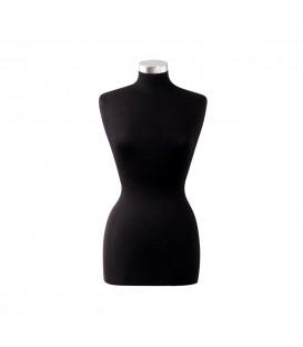 Fabric Bustform - Female - 10-12 to Thigh (Black)